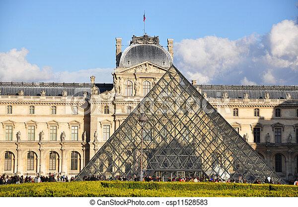 2010, francia, louvre, parigi, parigi, museo, pasqua, -, aprile, 4:, 4 - csp11528583