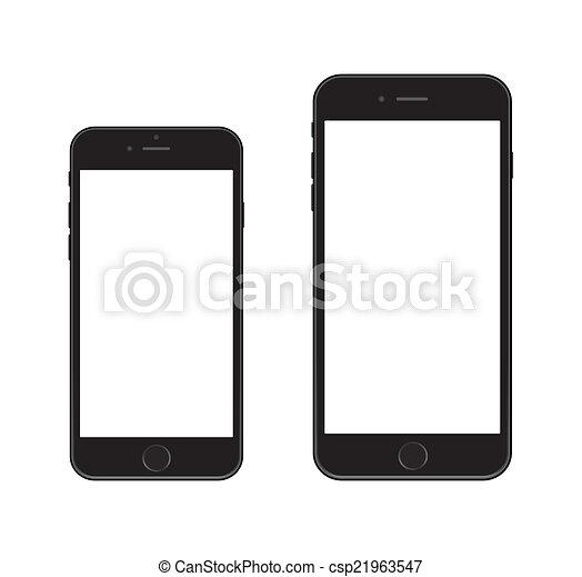 6, nuovo, iphone, smartphone - csp21963547