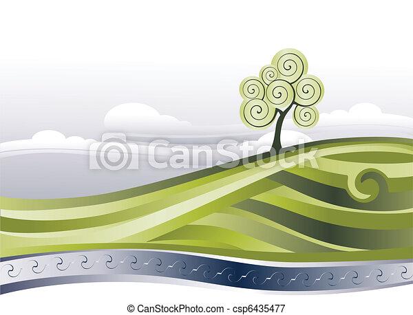 acqua, aria pulita - csp6435477