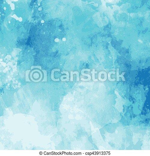 acquarello, fondo - csp43913375