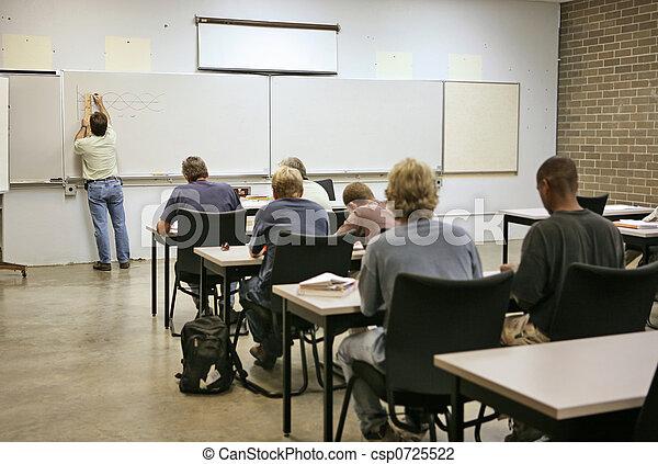 adulto, -, educazione, calcolo - csp0725522