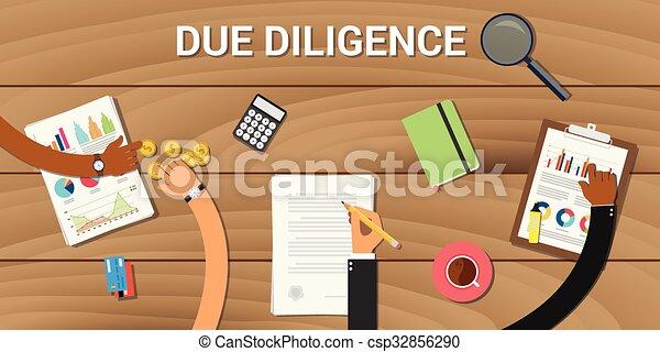 affari, analisi, diligenza, dovuto, grafico, dati - csp32856290