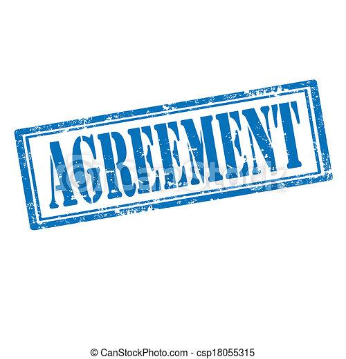 agreement-stamp - csp18055315