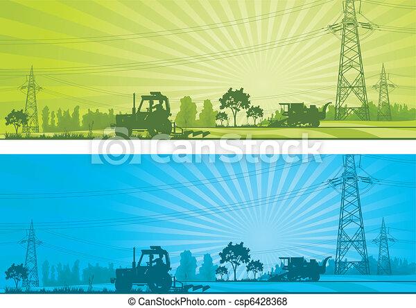agricoltura, paesaggio - csp6428368