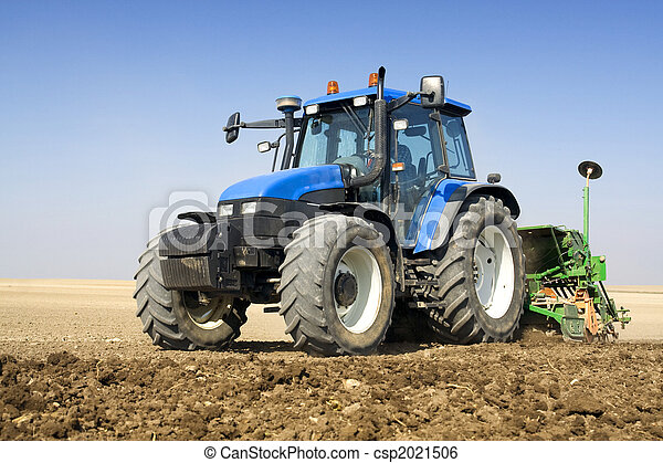 agricoltura, -, trattore - csp2021506