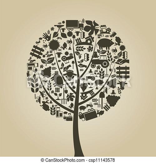 albero, agricoltura - csp11143578