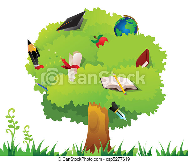 albero, educazione - csp5277619