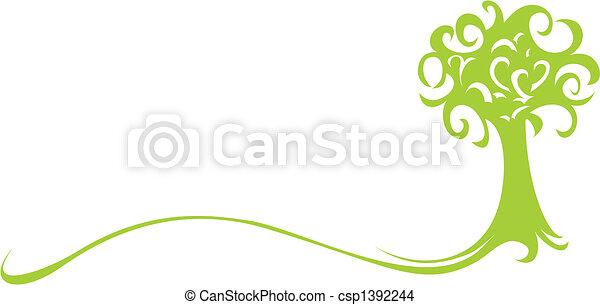 albero verde - csp1392244