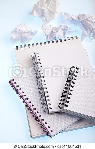 alfabeto, quaderno - csp11064531