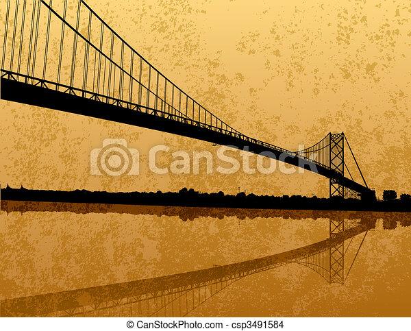ambasciatore, ponte - csp3491584