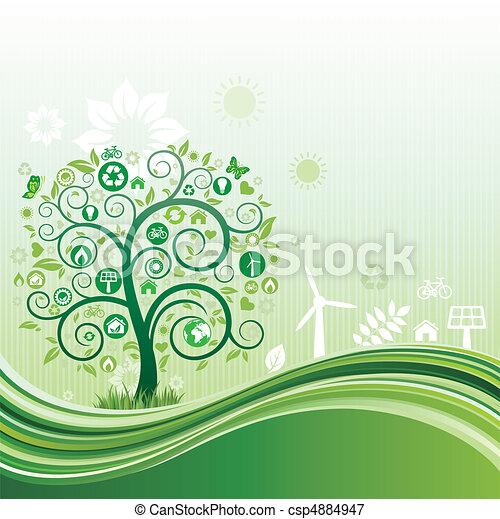 ambiente, fondo, natura - csp4884947