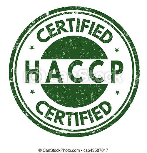 analisi, o, critico, points), segno, francobollo, controllo, (hazard, haccp - csp43587017