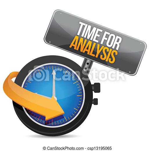 analisi, tempo - csp13195065