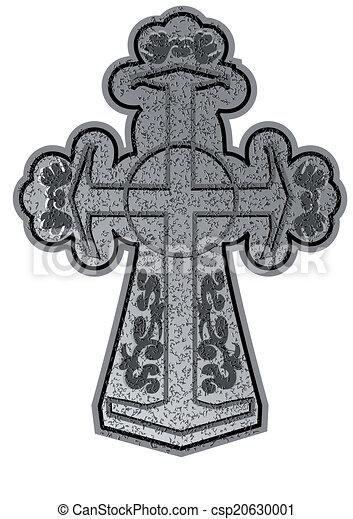 antico, croce - csp20630001