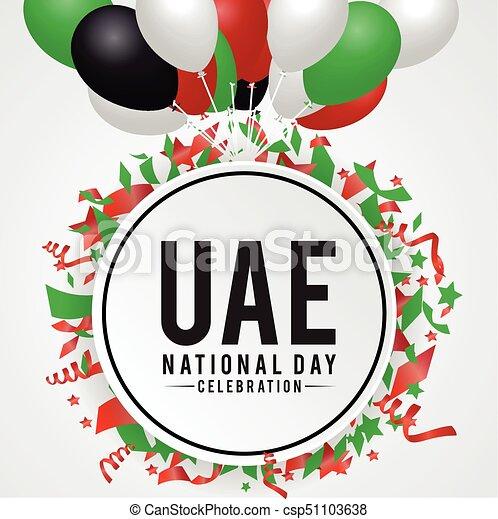 arabo, emirati, nazionale, fondo, unito, giorno - csp51103638