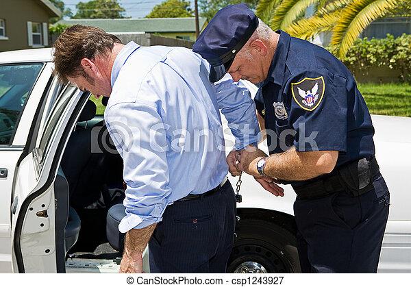 arrestato, pubblico - csp1243927