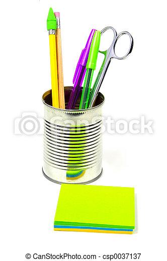 articoli, scrivania - csp0037137