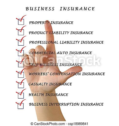 assicurazione, affari - csp18989841