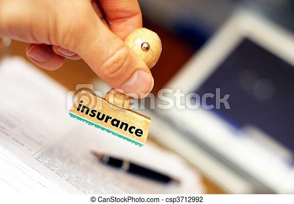 assicurazione - csp3712992