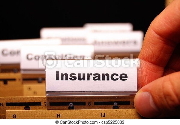 assicurazione - csp5225033