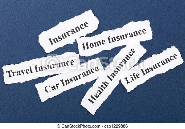 assicurazione - csp1229886