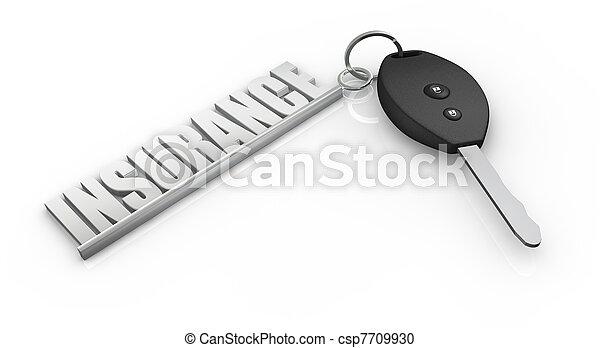 assicurazione automobile - csp7709930