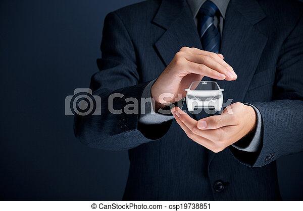 assicurazione automobile - csp19738851