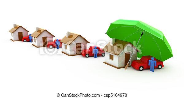 assicurazione casa - csp5164970