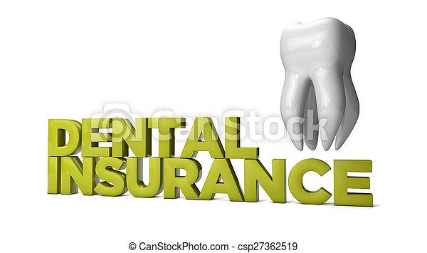 assicurazione dentale - csp27362519