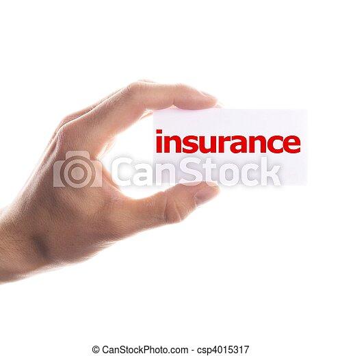 assicurazione - csp4015317