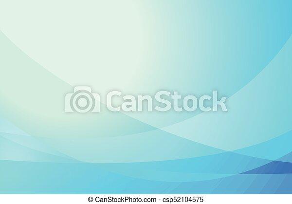 astratto, blu, illustrazione, curva, fondo, vettore - csp52104575