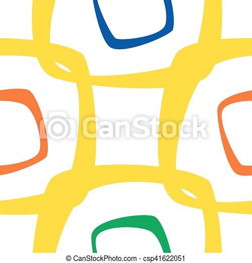 astratto, colorito, modello, fondo, seamless - csp41622051