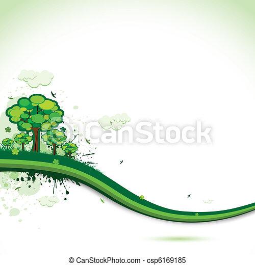 astratto, fondo, natura - csp6169185