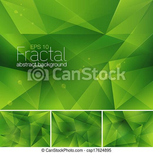 astratto, fractal, fondo - csp17624895