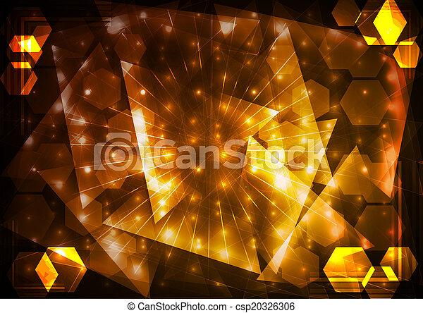 astratto, illuminazione, fondo - csp20326306