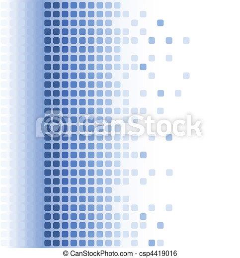 astratto, mosaico, fondo - csp4419016