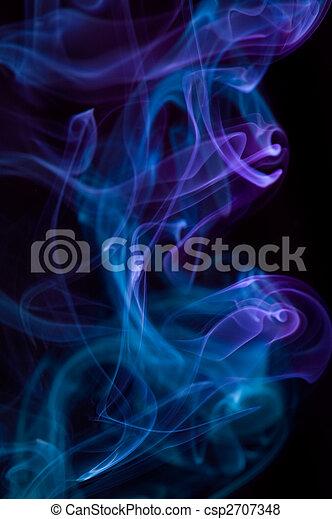 astratto, multicolor, fumo - csp2707348