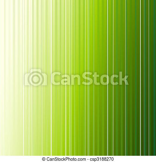astratto, striscia verde, fondo - csp3188270
