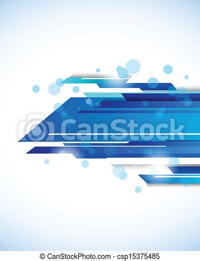 astratto, tecnologia, fondo - csp15375485