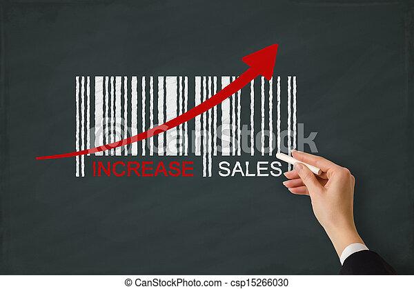 aumento vendite - csp15266030