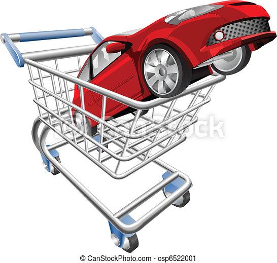 automobile, concetto, carrello - csp6522001