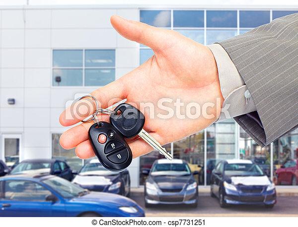 automobile, key. - csp7731251
