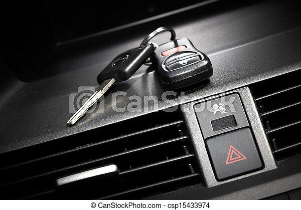 automobile, keys. - csp15433974