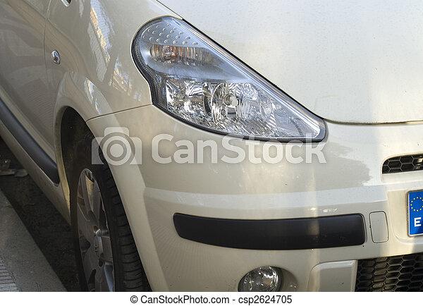 automobile, lampada - csp2624705