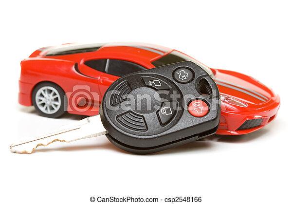 automobile, modello, sport, chiave - csp2548166