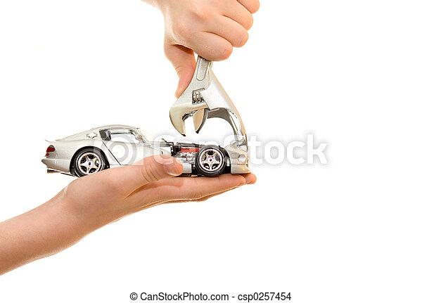 automobile, palma, riparazione - csp0257454