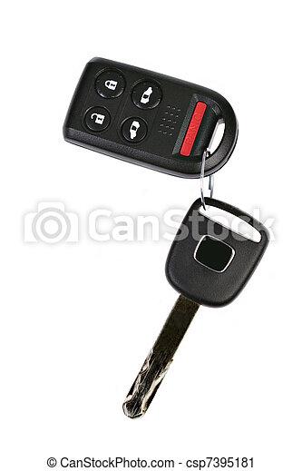 automobile, remoto, chiave - csp7395181