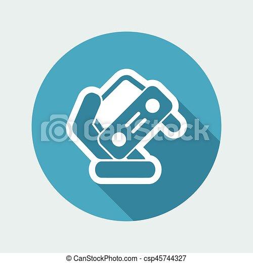 automobilistico, simbolo - csp45744327