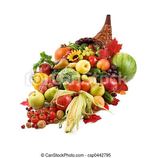 autunno, cornucopia - csp0442795
