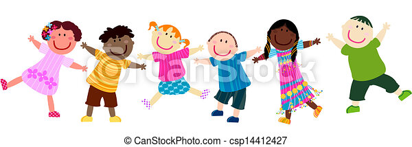 bambini, felice - csp14412427